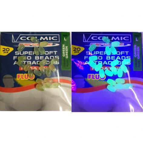 Colmic Super Soft Fluo Floating Attractor Beads